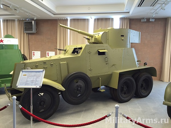 Средний бронеавтомобиль БА-6