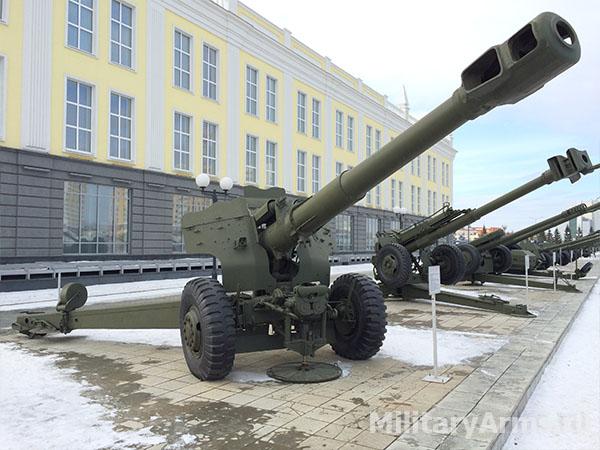 П152-мм пушка-гаубица Д-20 1955 года
