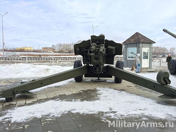 152-мм пушка-гаубица Д-20 1955 года