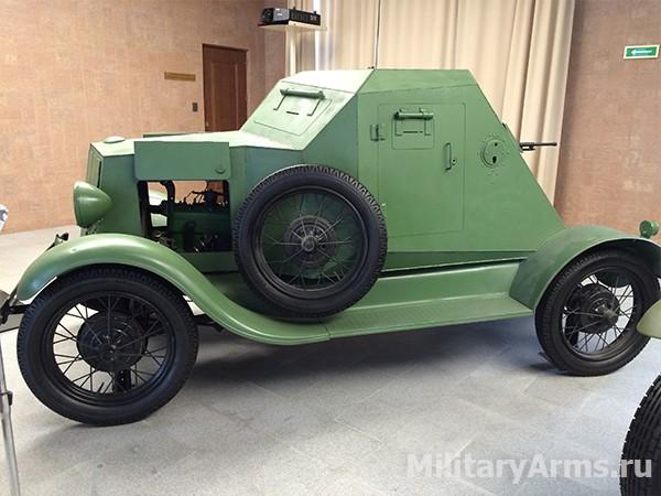 Легкий бронеавтомобиль Д-8 1931 года