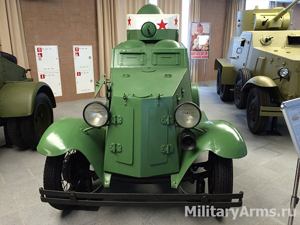 Легкий бронеавтомобиль ФАИ