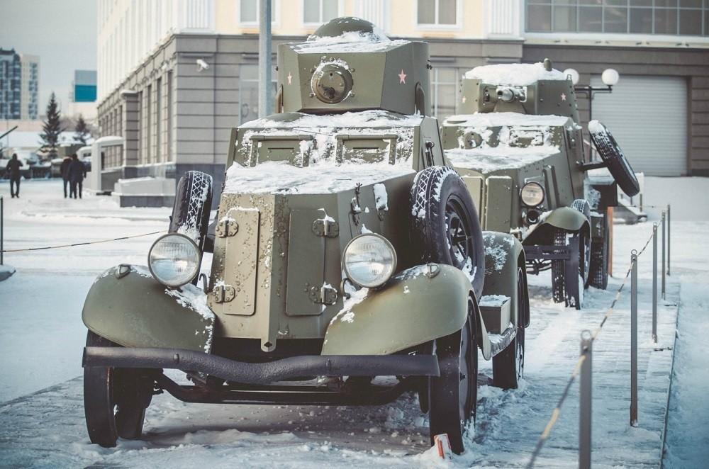 Бронеавтомобиль ФАИ 1933 года