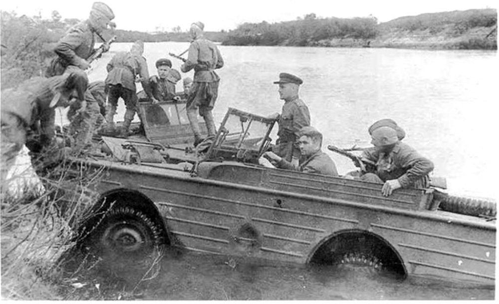 Легкий плавающий автомобиль Ford Gpa «Seep»