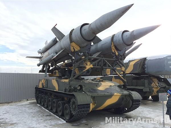 Самоходная пусковая установка КС-41 (2П24) зенитно-ракетного комплекса 2К11