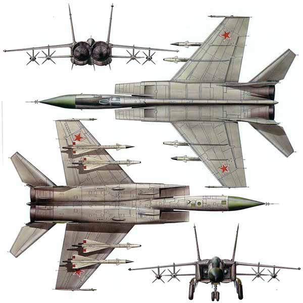 Истребитель МиГ 25