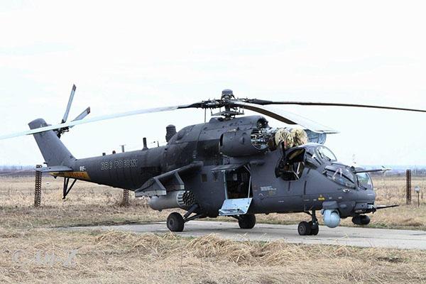 Вертолет МИ 35