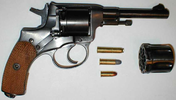 «Наган» (револьвер): технические характеристики и ...