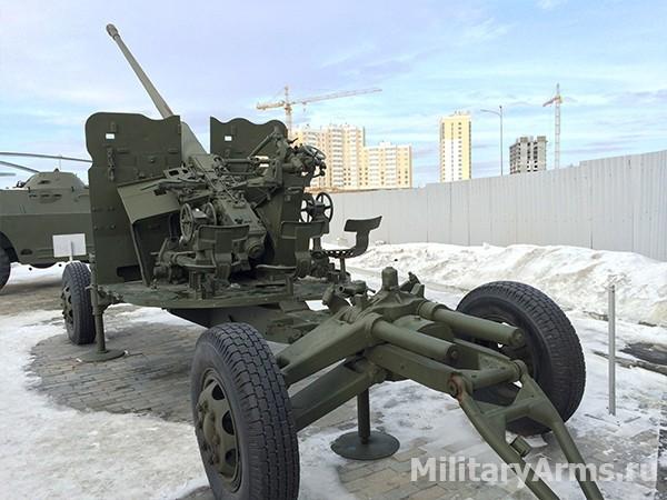 57-мм автоматическая зенитная пушка С-60 1950 года
