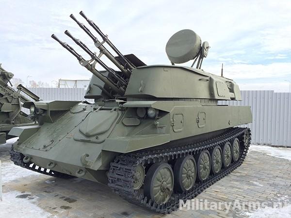 Зенитная самоходная установка ЗСУ-23-4 (2А6)