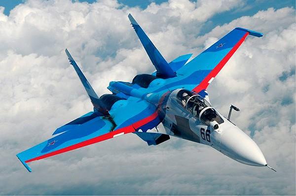 Истребитель СУ 30