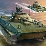 Легкий плавающий танк ПТ-76Б