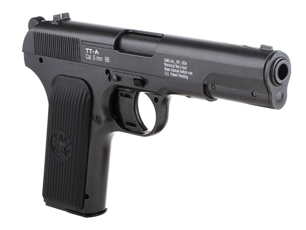 Пистолет ТТ страйкбольный