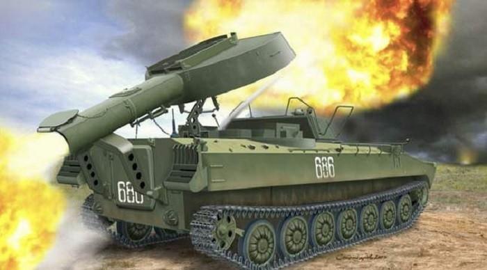 Самоходная реактивная установка разминирования УР-77