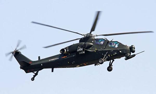 Китайский ударный вертолет WZ-10