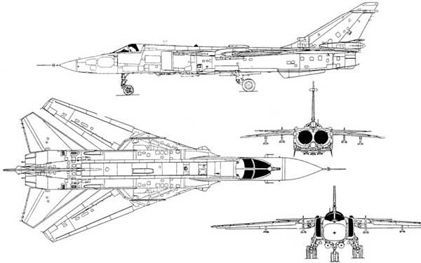 СУ-24 схема
