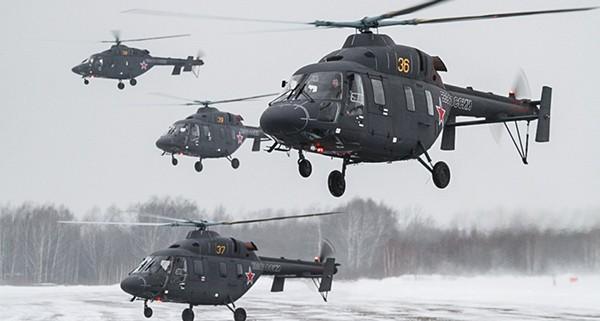Ансат-У 4 вертолета