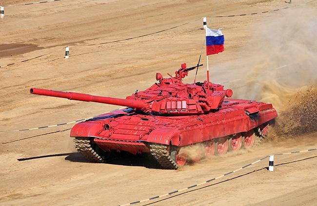 Танковый битлон