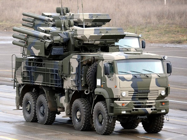 Зенитный ракетно-пушечный комплекс «Панцирь-С1»