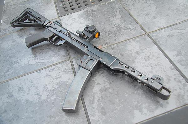 Пистолет-пулемет Судаева ППС 42-43, Описание и Технические ... Автомат ППШ Устройство