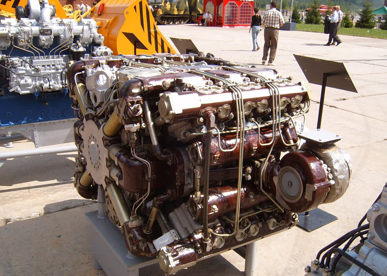 Двигатель А-85-3А