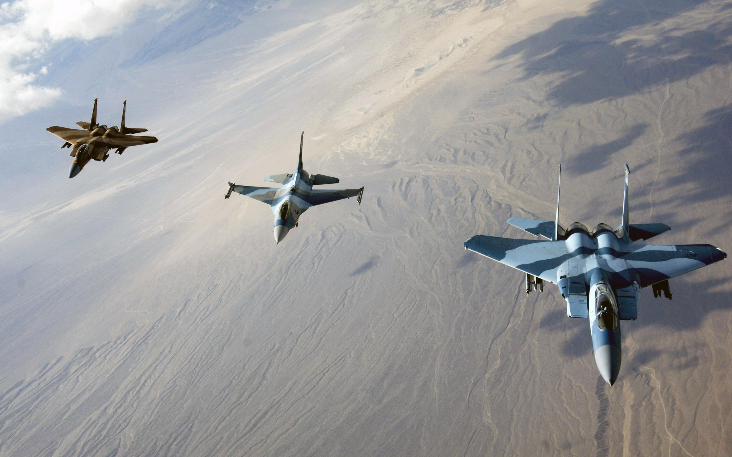 Обои Самолёт, истребитель, falcon, перед, fighting. Авиация foto 10