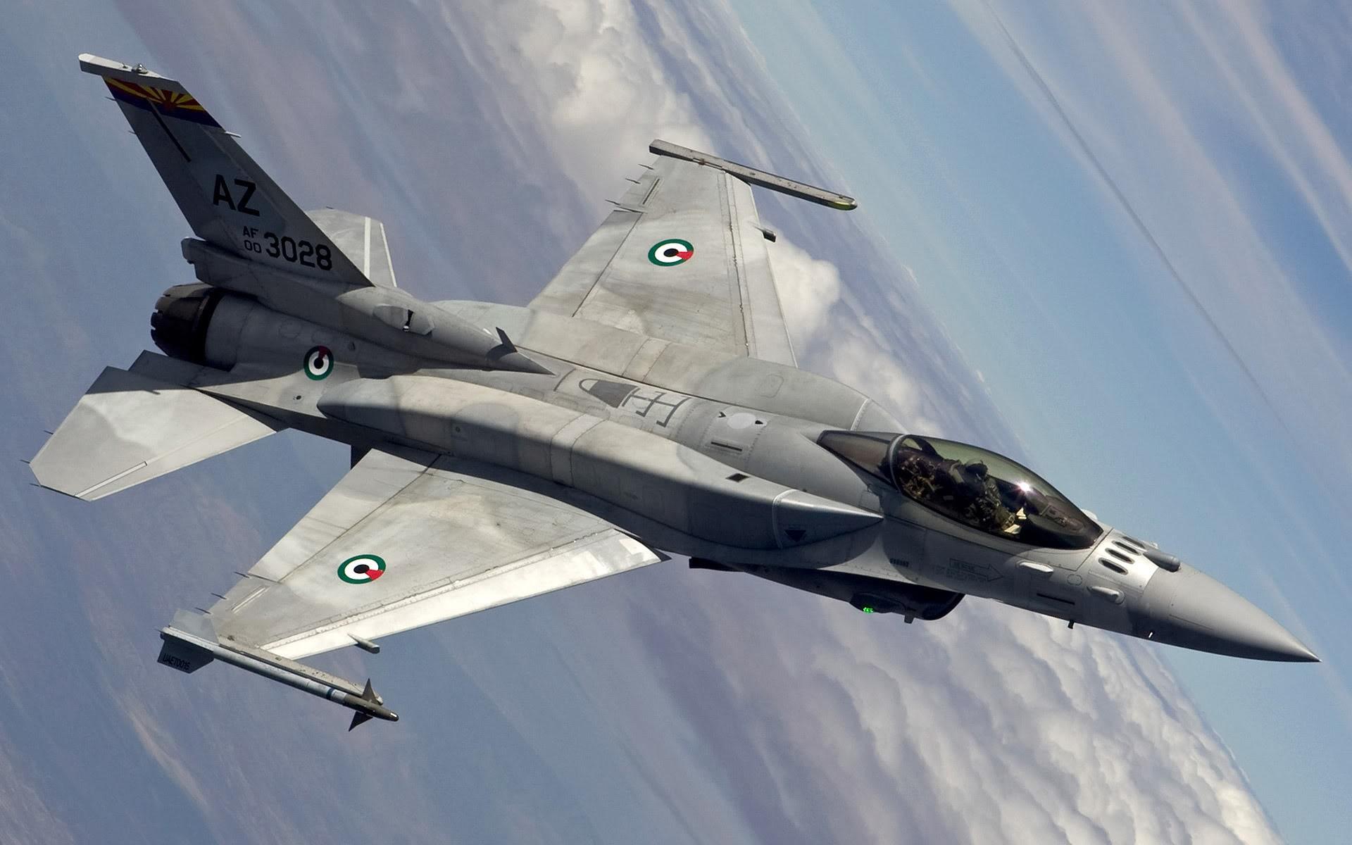 Обои Самолёт, F16. Авиация foto 19