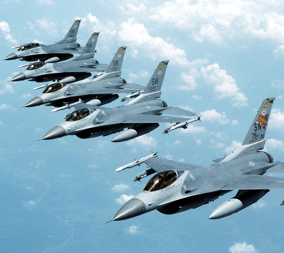 Обои Самолёт, истребитель, falcon, перед, fighting. Авиация foto 14