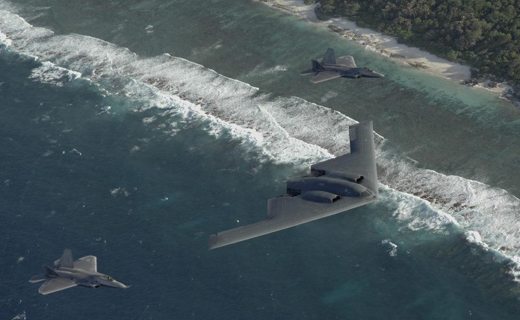 бомбардировщик Northrop B-2 Spirit