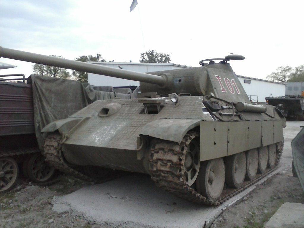 Танк Pz.Kpfw.V Пантера