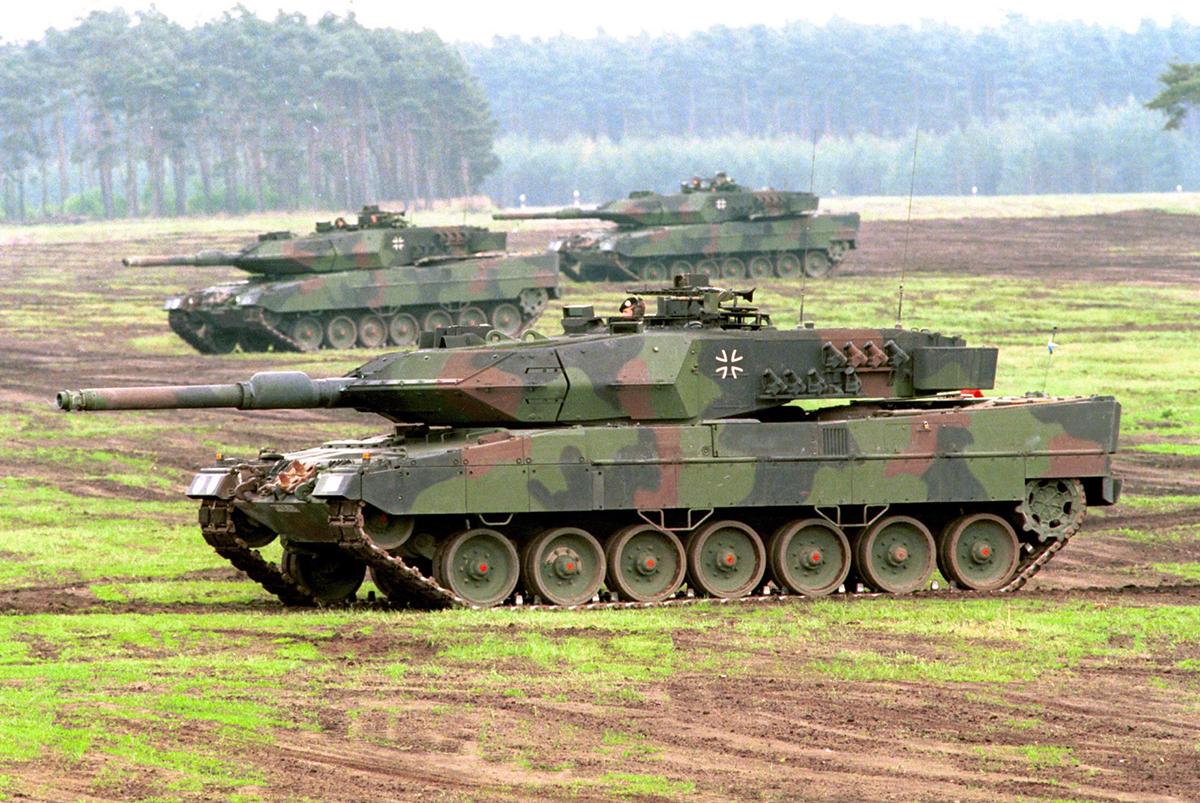 танки леопард 3