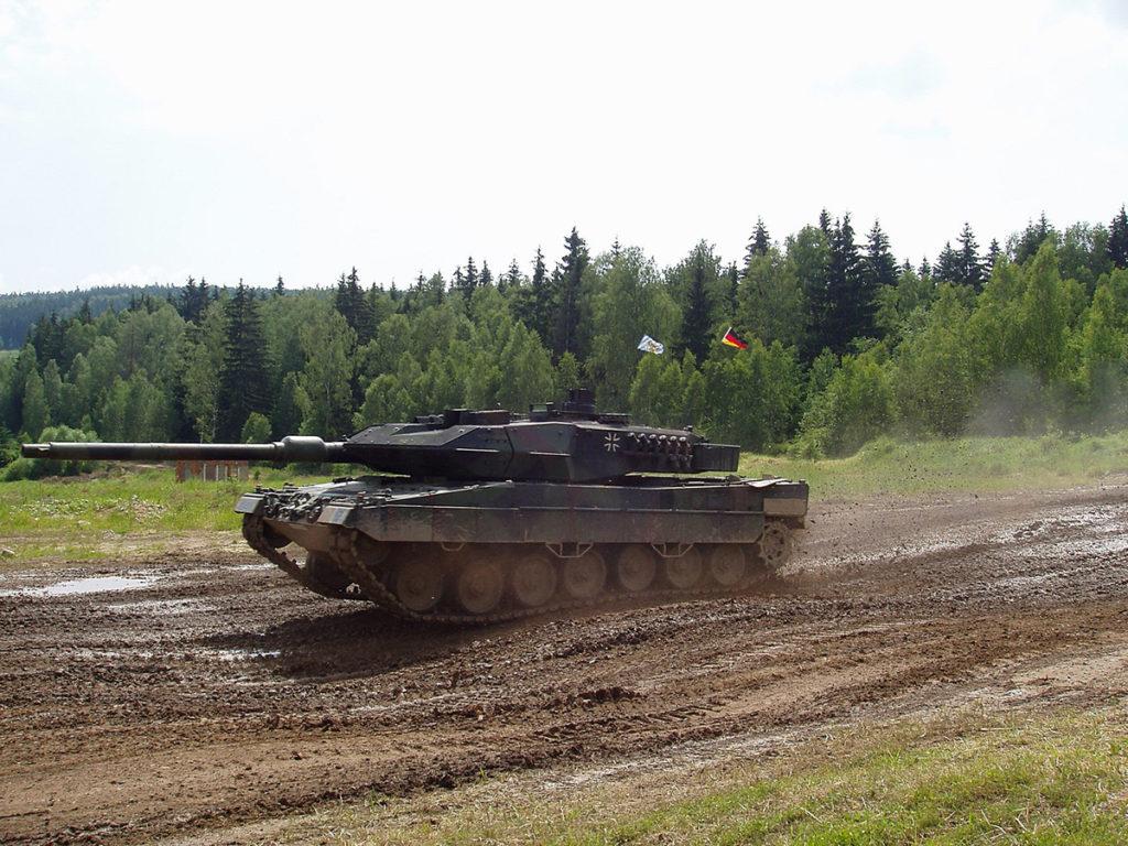 Танк Леопард 2