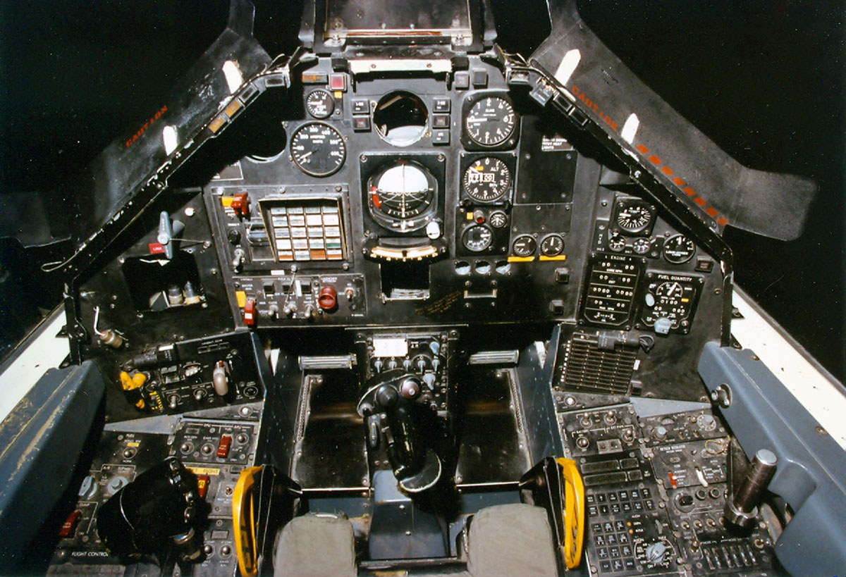 The cockpit was quite spacious  Lockheed F117 Nighthawks A Stealth Fighter Roll Call Atglen Pennsylvania Schiffer Publishing 2009