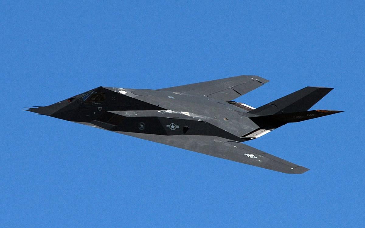 Американский Самолет Невидимка Lockheed F-117 Nighthawk ...