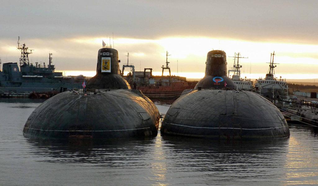 Атомные подлодки класса «Акула», «Северсталь» и «Архангельск» будут утилизированы