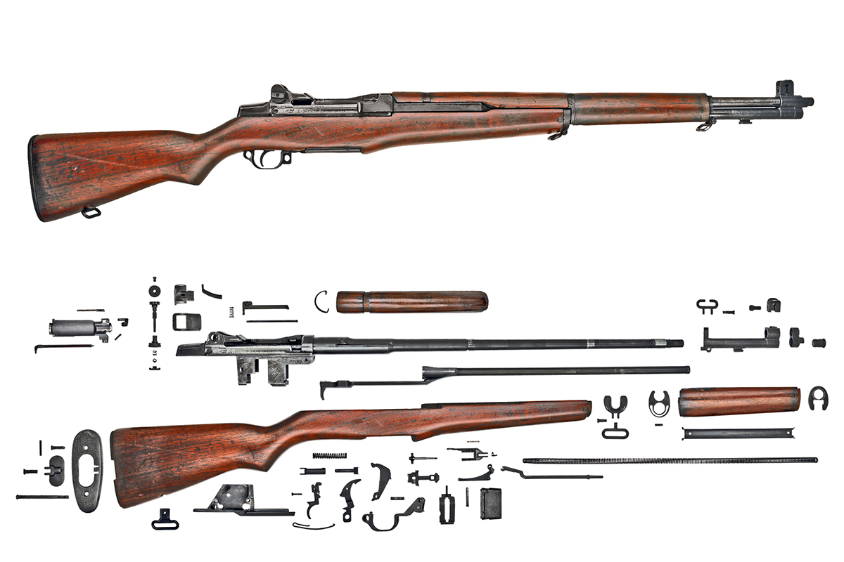 m1 garand rifle M1 garands all m1's have new criterion or kreiger barrels, in 30-06 or 308, new walnut dupage stock & handguards, reparked, refurbished, & ready to shoot m1's are completely rebuilt, all systems checked, reparkerized, & come with 5 clips, instruction manual & 3 year warranty.