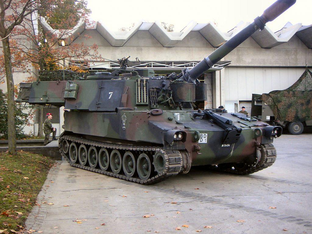 САУ М109