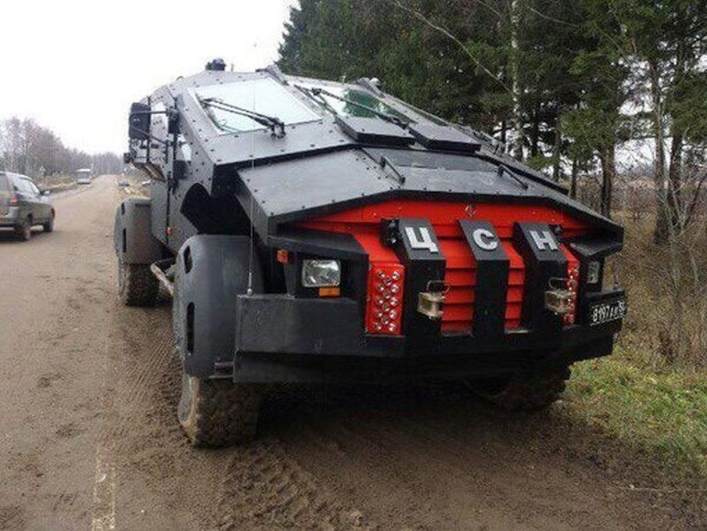 Бронеавтомобиль Каратель