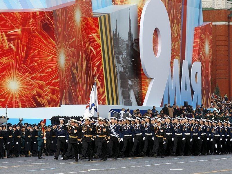 парад победы в москве видео