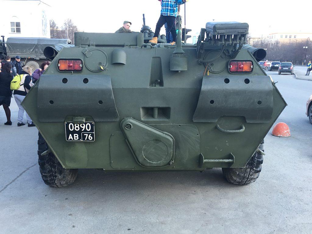 РХМ-4-01 на базе БТР-80