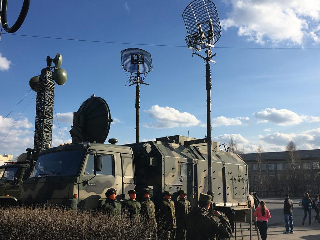Радиорелейная станция Р-419 Л1