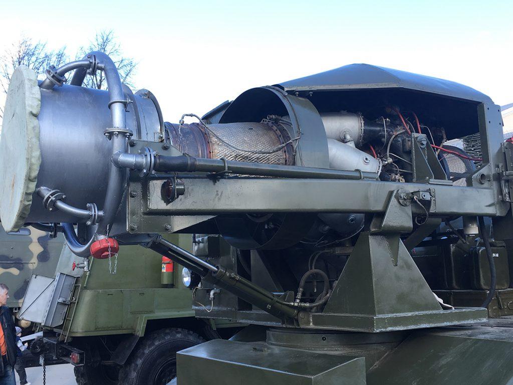 Тепловая машина для специальной обработки ТСМ-65М