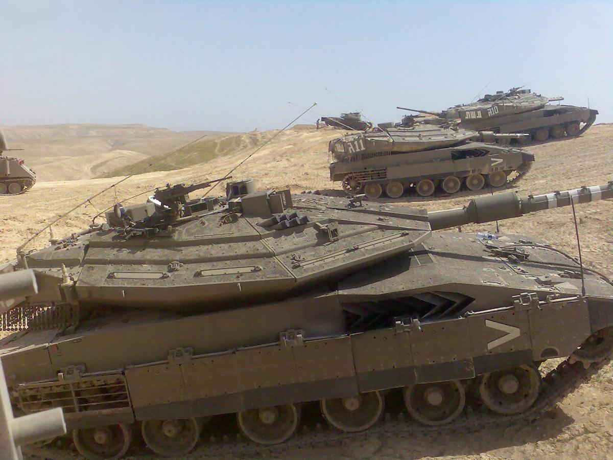 Израильский танк Меркава 5