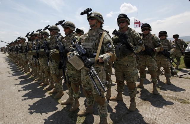 Рота НАТО в Грузии