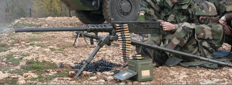 Ручной крупнокалиберный пулемет Browning M2