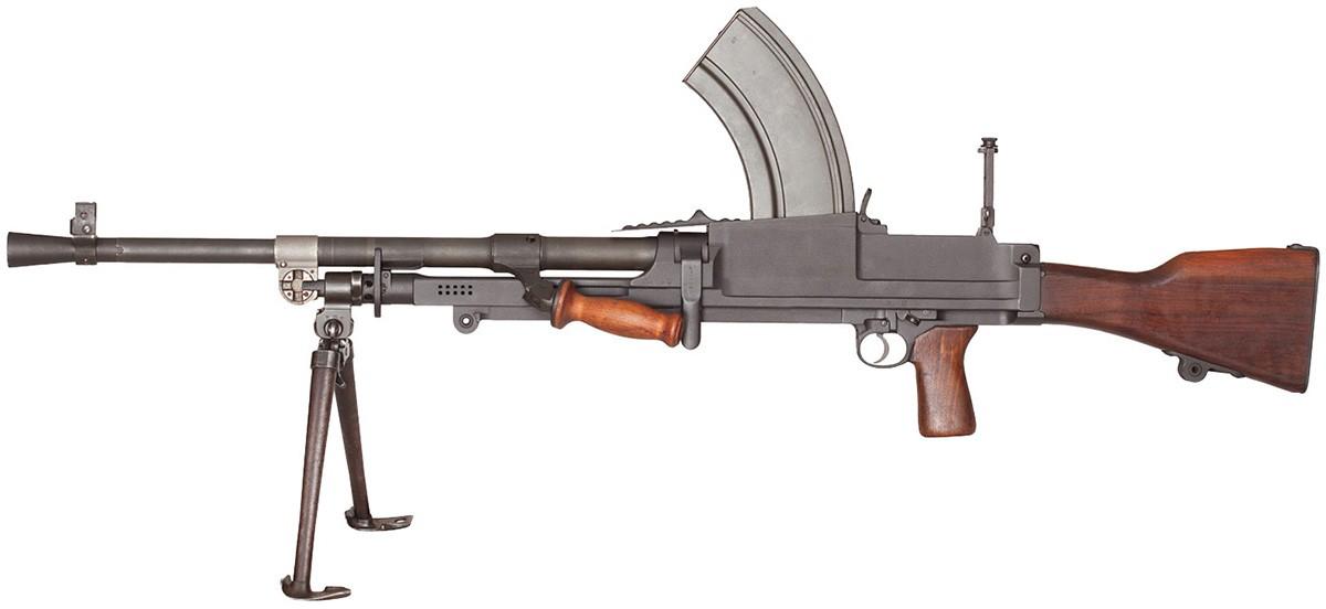 Британский ручной пулемет Брэн (Bren): устройство и характеристики