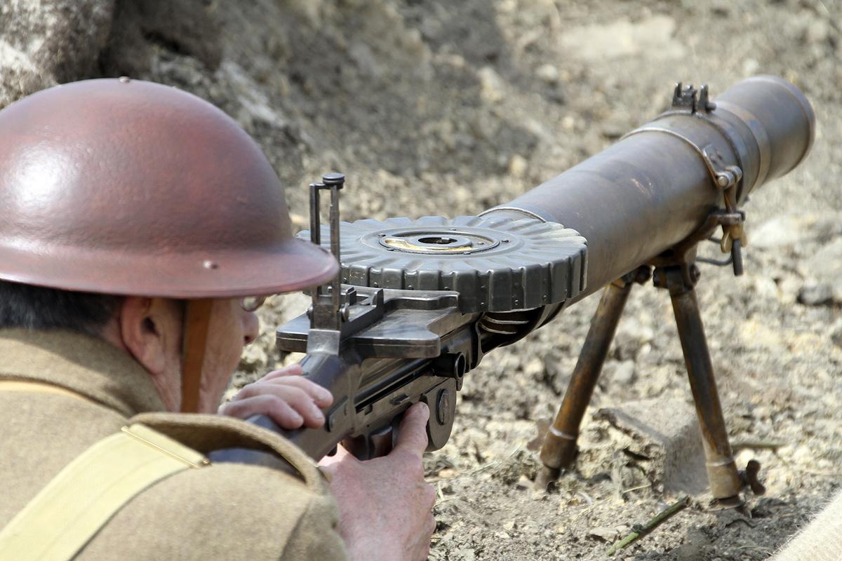 Ручной пулемет Льюиса (Lewis)