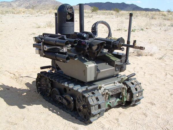 Военный робот SWORDS
