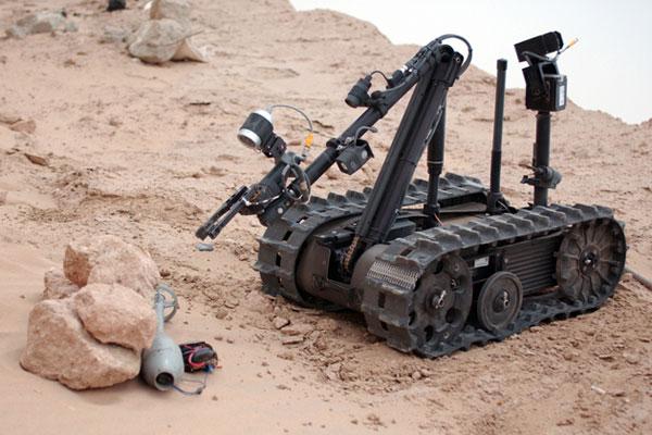 Разведывательный робот