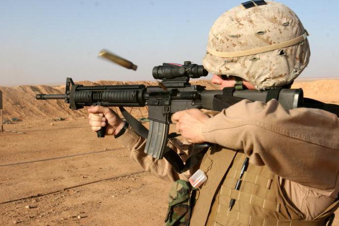 винтовка М16