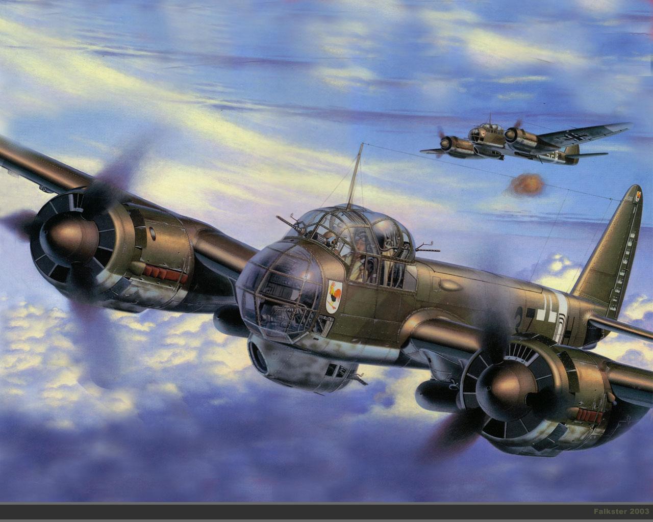 Обои junkers ju 88, юнкерс ju 88, многоцелевой самолет. Авиация foto 9